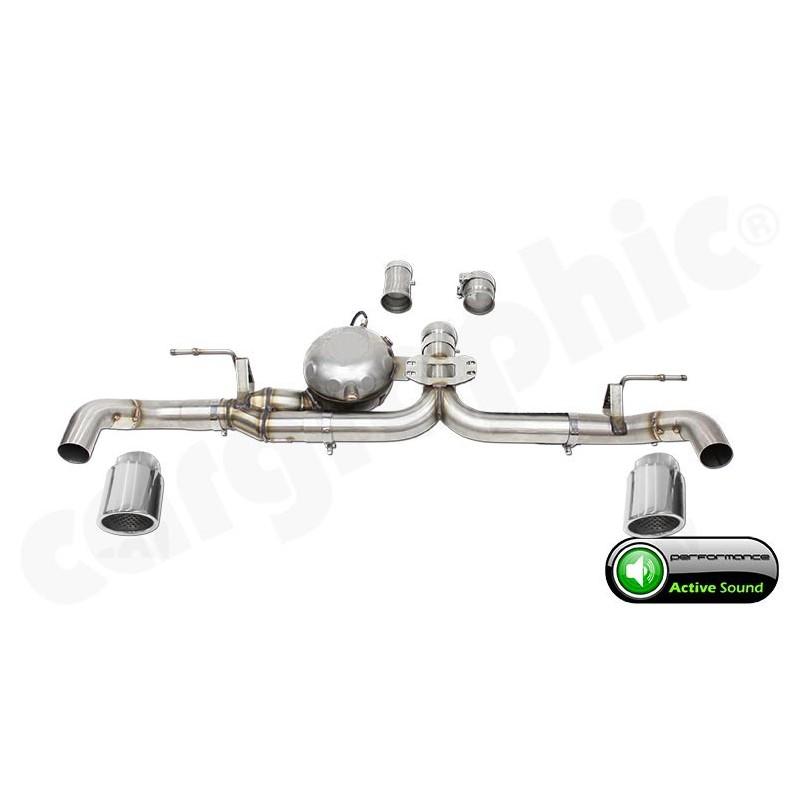 Echappement Active Sound System BMW X5 30d 35d E70 CARGRAPHIC