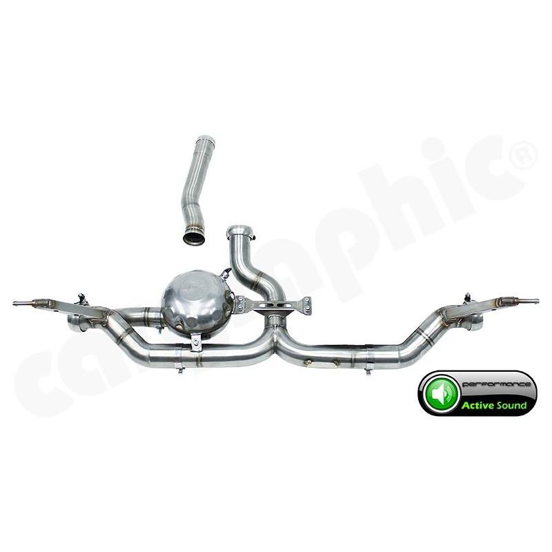 Echappement Active Sound System VW Touareg R5 / V6 Diesel
