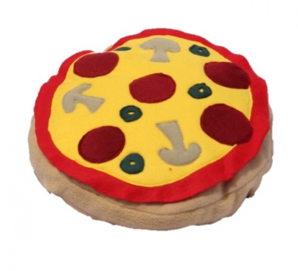 handmade pizza pillow