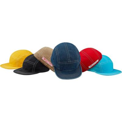 Fitted Rear Patch Camp Cap