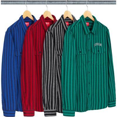 Stripe Flannel Shirt