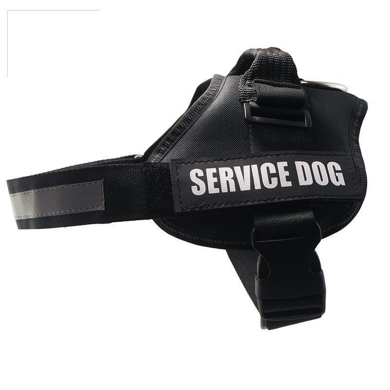 Reflective Service Dog No-Pull Dog Harness