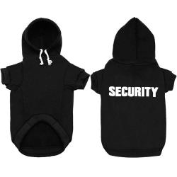 """SECURITY"" Dog Hoodie"