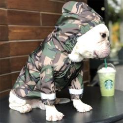 Barking Pup Camouflage Dog Jacket