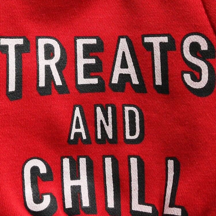 Treats and Chill Dog Sweater