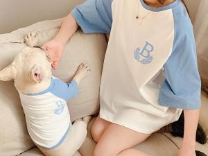 Billionaire Pup Baseball Tee
