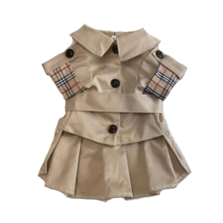 Furberry Lapel Dog Jacket
