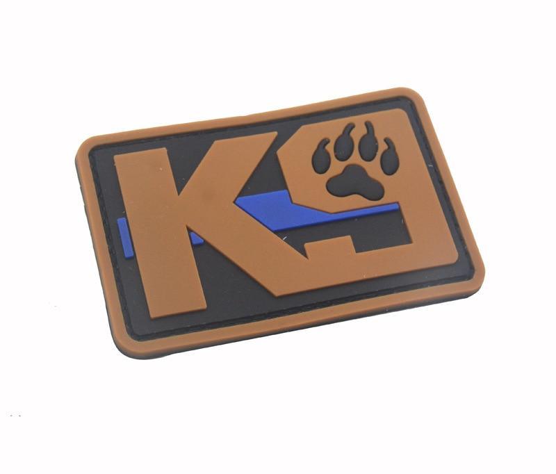 Blue Line Tactical K9 Patches