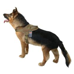 1050D Vortex Tactical Dog Harness