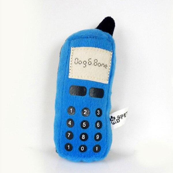 Dog & Bone Cellphone Dog Toy