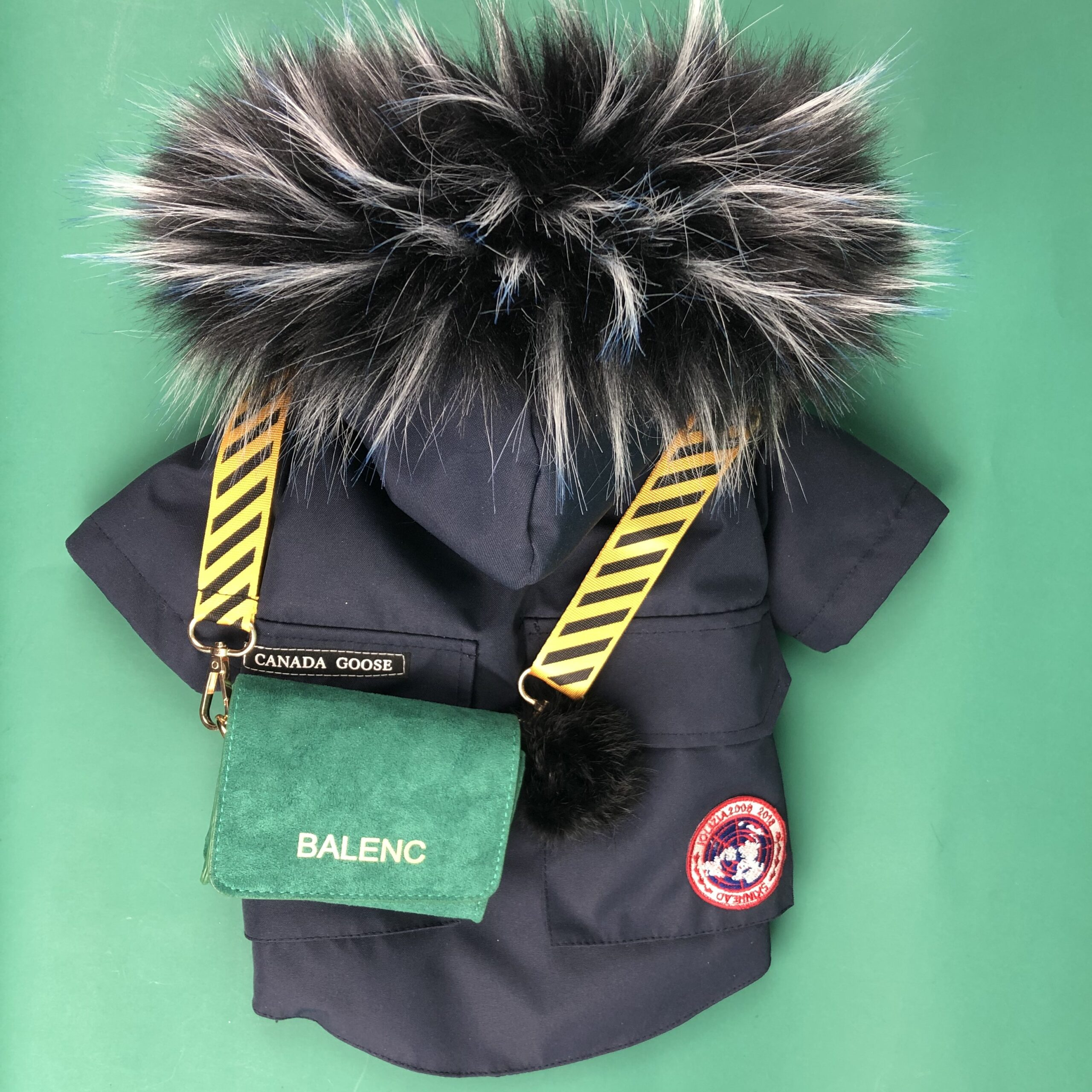 Canada Pooch Feather Down Dog Coat