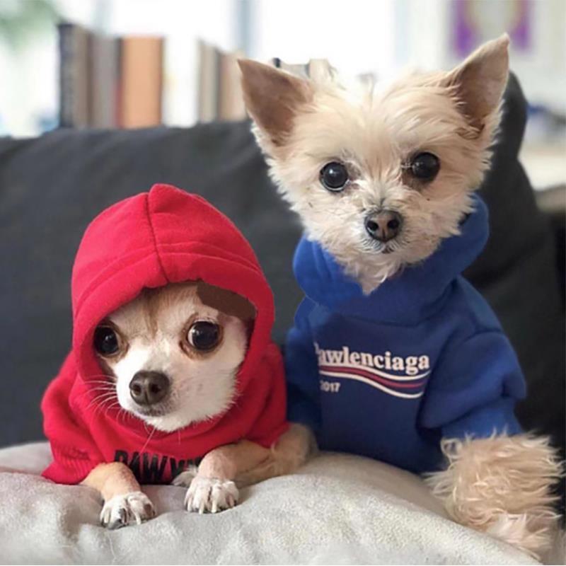 Pawlenciaga Dog Hoodie - Supreme Paw Supply