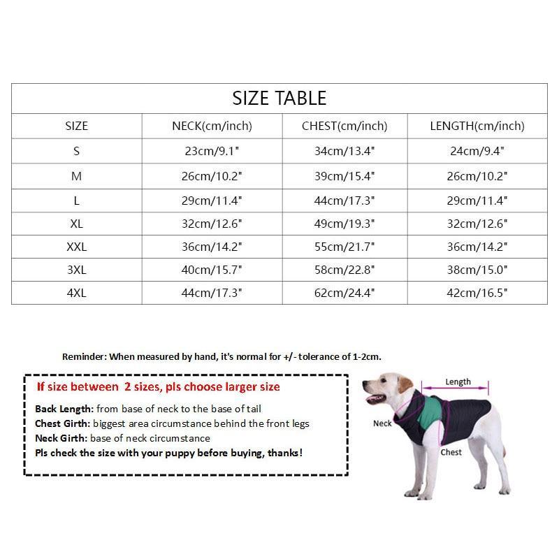 SPS Dog Windbreaker - Supreme Paw Supply