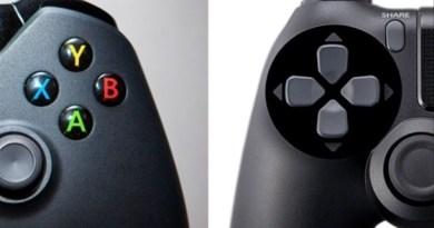 Playstatio 4 x Xbox