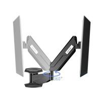 Suptek TV Wall Mount Articulating Arm Monitor Bracket Up ...
