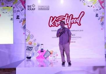 Bekraf Sosialisasi Program Kreatifood 2019 di Kota Malang