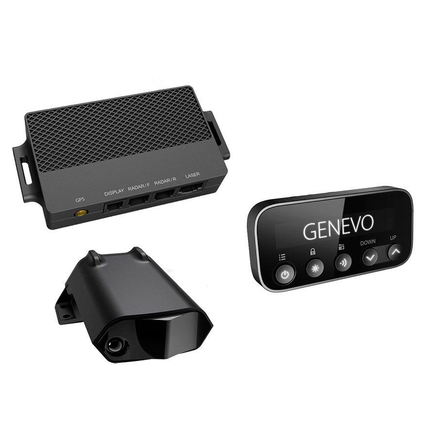Genevo Pro Detector de radar antiradar de instalación