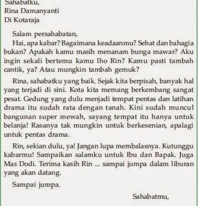 9. Contoh Surat Untuk Sahabat Dalam Bahasa Sunda
