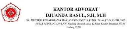 Kop Surat Kantor Advokat