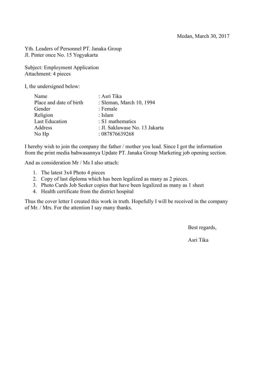 16 Contoh Surat Block Style Bentuk Lurus Terbaru 2020 Contoh Surat