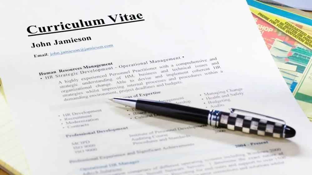 Contoh Daftar Riwayat Hidup Untuk Melamar Kerja