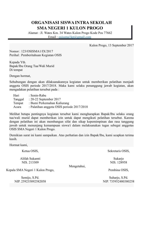 29++ Contoh surat resmi sekolah dalam bahasa inggris terbaru terbaik
