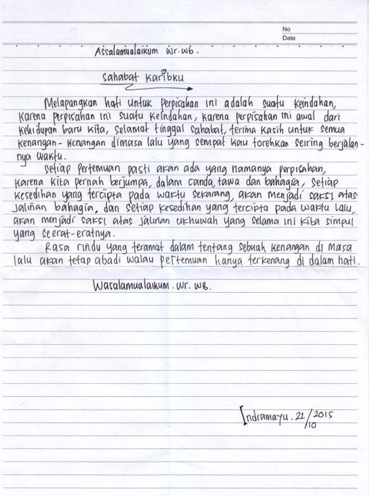 13++ Contoh surat pribadi bahasa cirebon terbaru terbaru