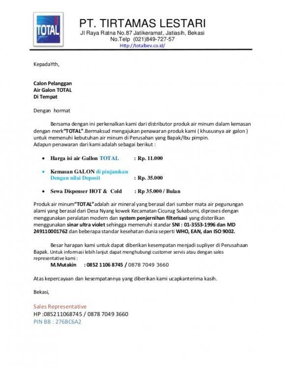15. Contoh Surat Pengajuan Barang Inventaris Kantor