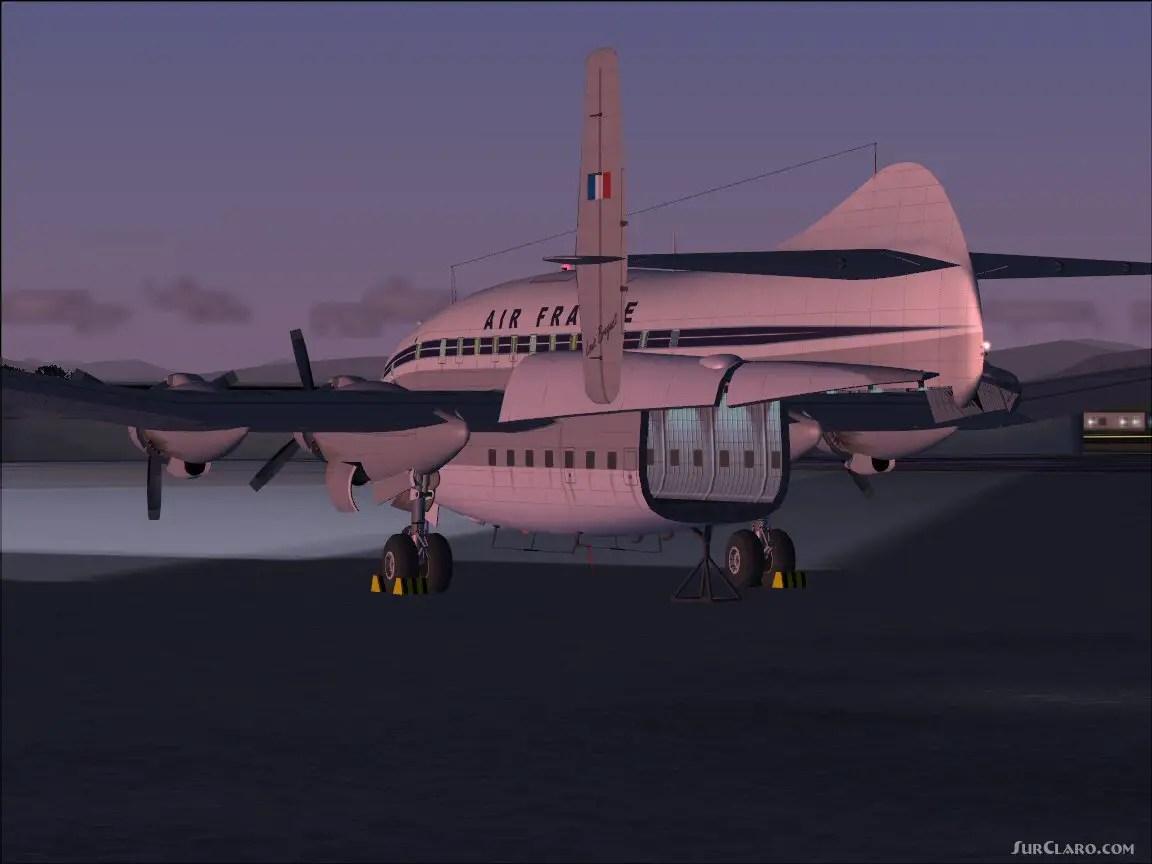 FS2004 Breguet 763 Deux Ponts Provence Gmax 1.2 Airliners