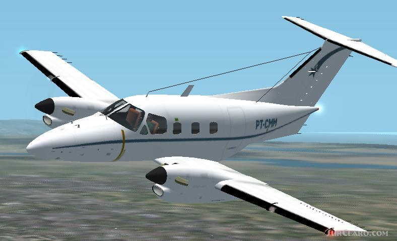 FS2004 FS2002 Embraer Emb121 Xingu A Seven Seat Twin