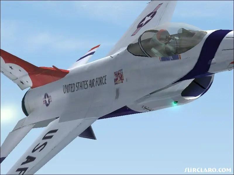 FS2004 F16 Thunderbirds 15206 SurClaro Photos