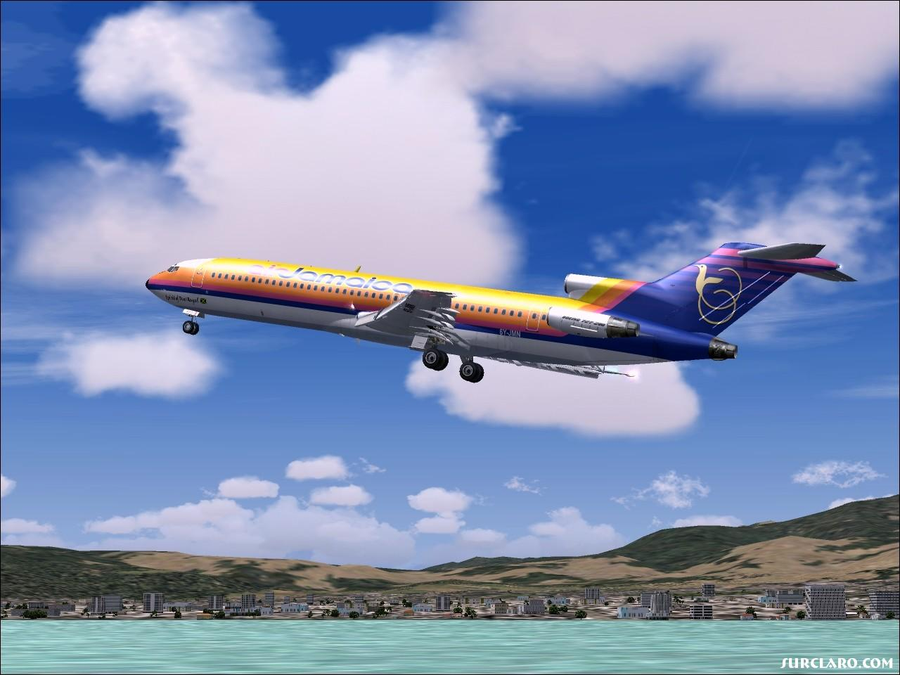 Fsx Wallpaper Hd Fs2004 Air Jamaica 727 7372 Surclaro Photos