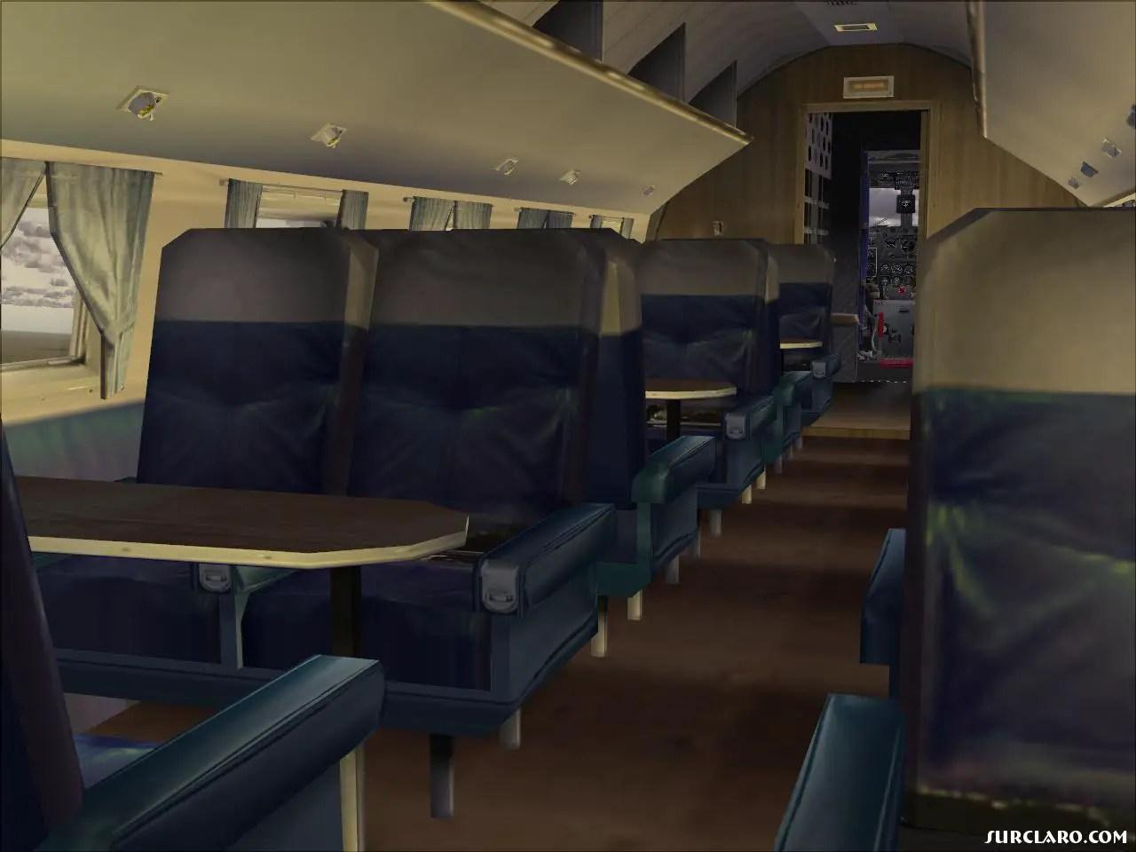 FS2004 DC3 Cabin 7479 SurClaro Photos