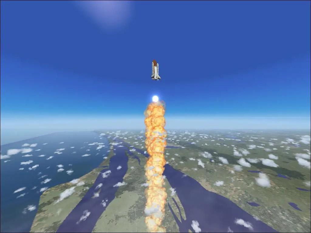 FS2004 Shuttle Launch 16711 SurClaro Photos