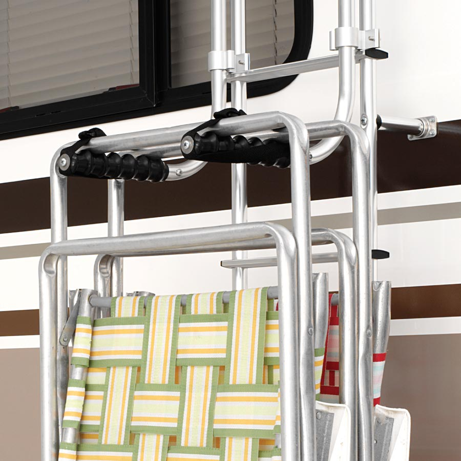 Ladder Mounted Chair Rack  Surco Inc Products