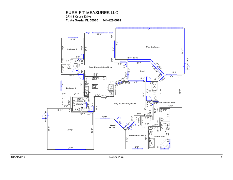 Real Estate Floor Plans in Florida