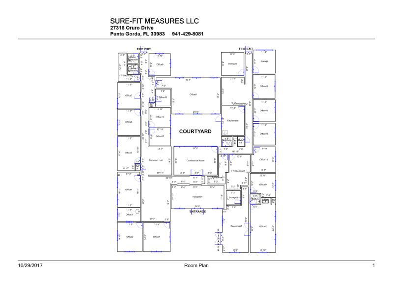 Real Estate Floor Plans in Florida