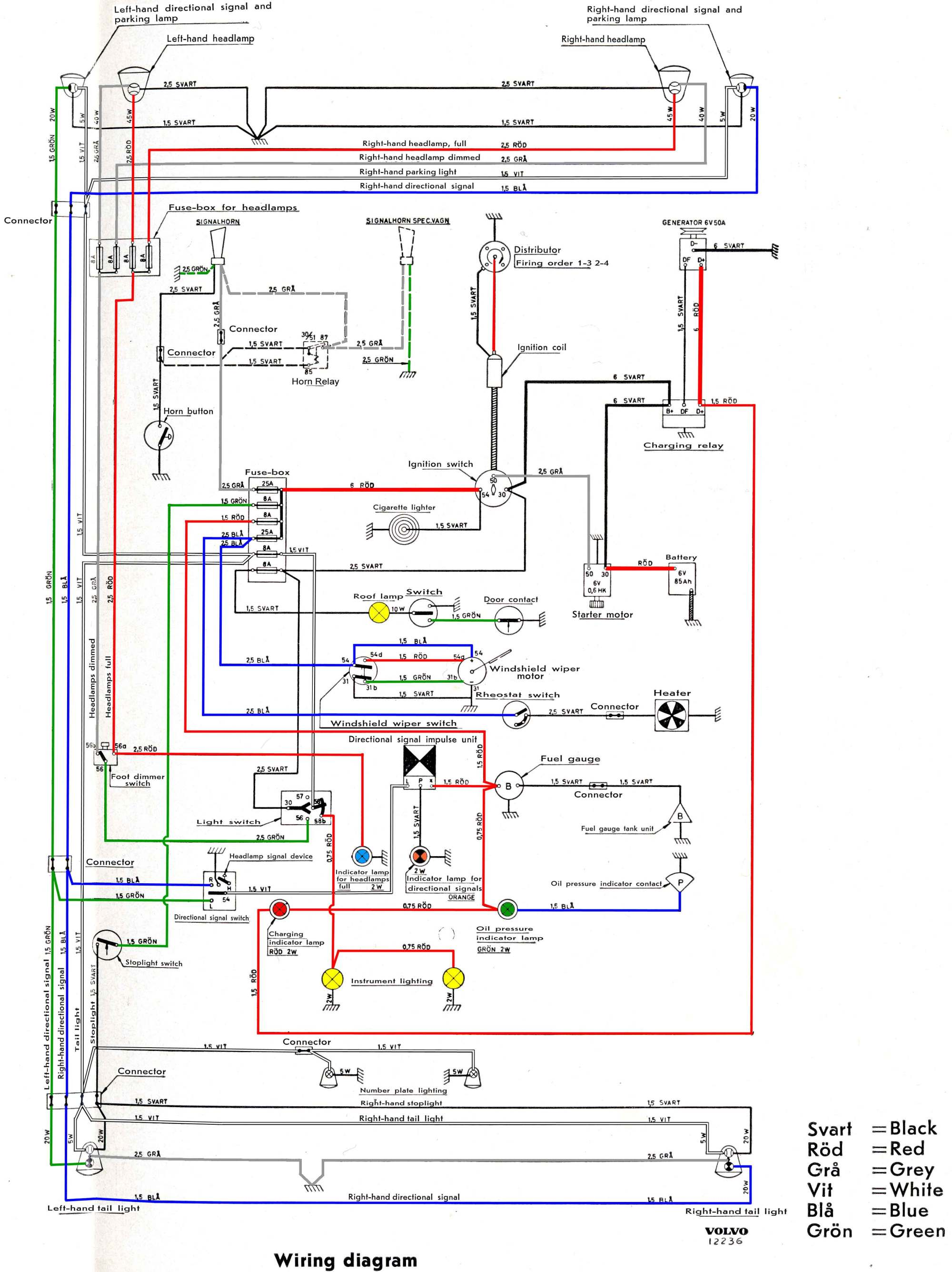 hight resolution of 1965 volvo 544 fuse box wiring diagram forward 1965 volvo wiring diagram