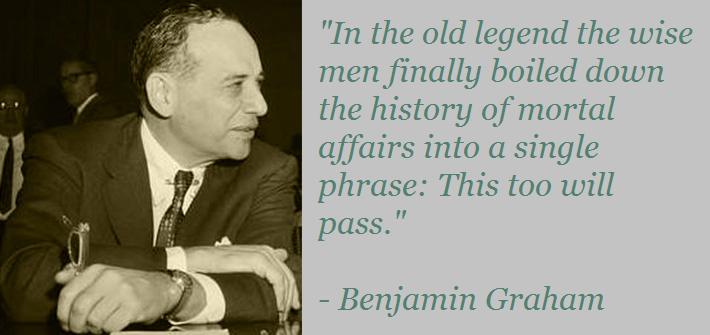 Benjamin Graham Quote Bear Market Stocks