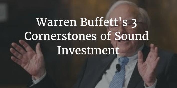 Buffett Cornerstones