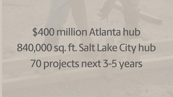 UPS $400 Million Atlanta Hub