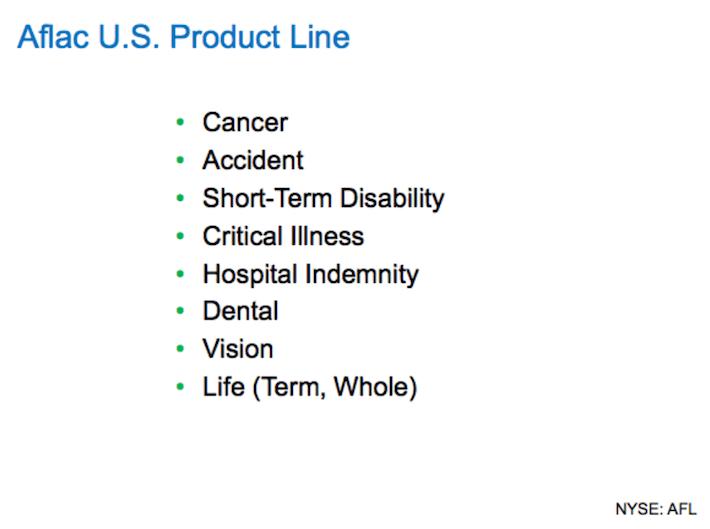AFL Aflac U.S. Product Line