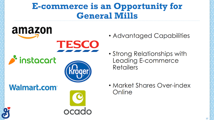 GIS General Mills E-Commerce Is An Opportunity For General Mills