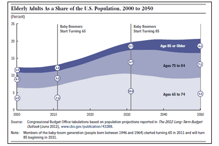 Elderly Adults Population Growth