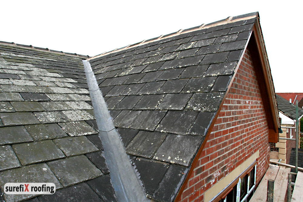Typical Flat Roof Wall
