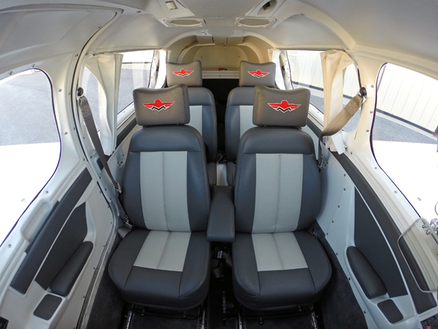 Cessna Aircraft Interior Plastic