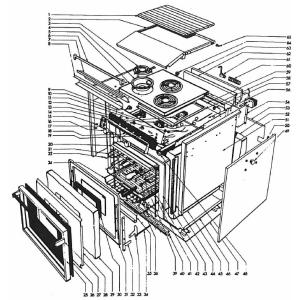 Seaward Replacement Parts Models 3142 & 3342