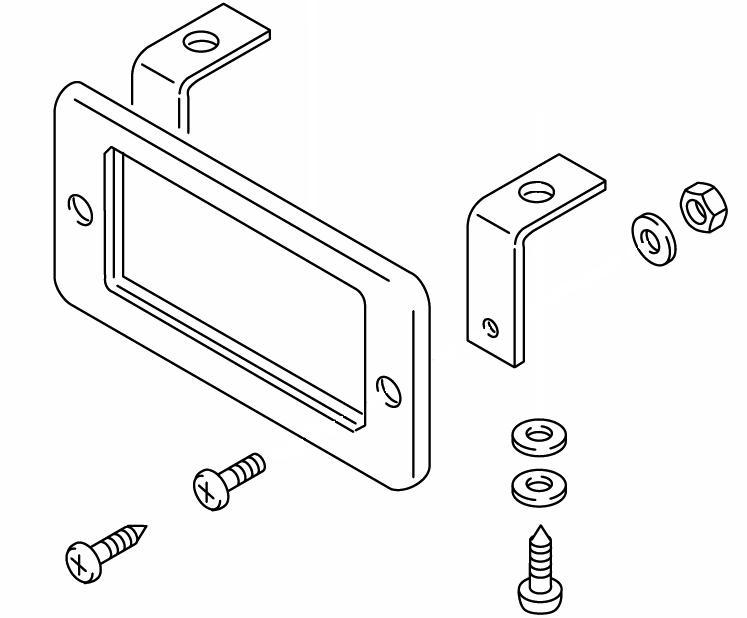 474-630 Frame Mount Kit Webasto Repair Part