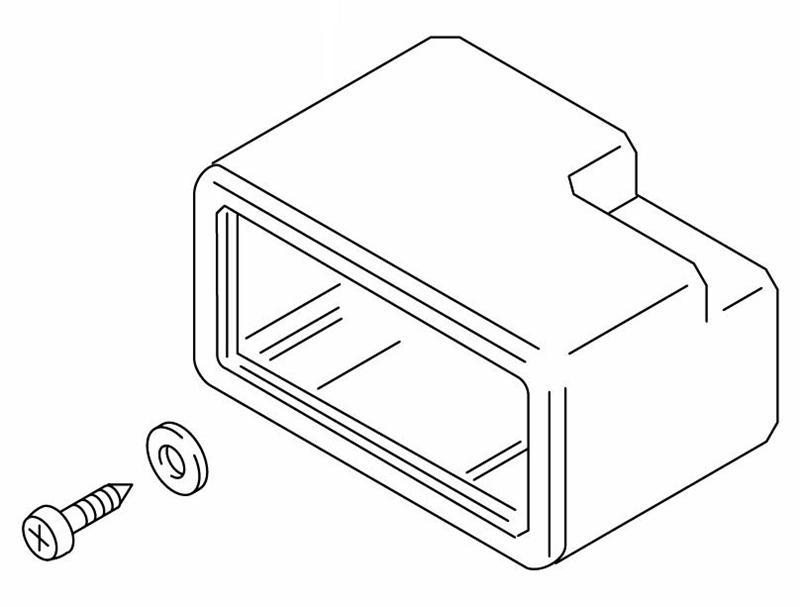475-866 Mounting Case Webasto Repair Part