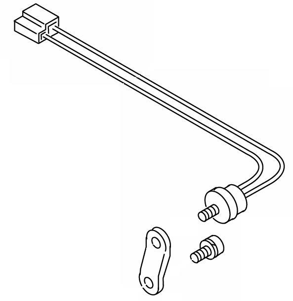 603-547A Thermostat with Bracket Webasto DBW2010 Repair Part